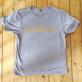 Fair trade organic cotton T SHIRT, designed for craft lovers.