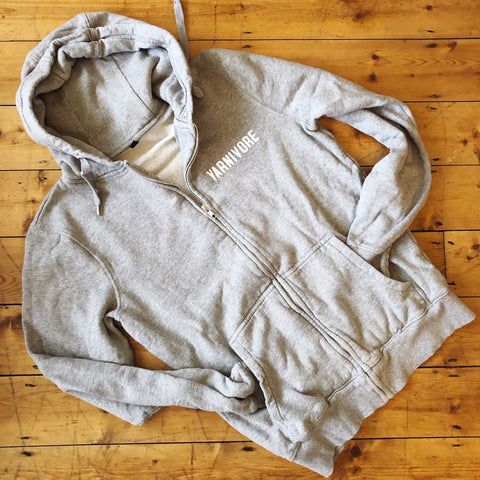 YARNIVORE Zip Up Hoodie - 100% Organic Fairtrade Cotton