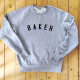 BAKER Sweatshirt - 100% Organic Fairtrade Cotton -