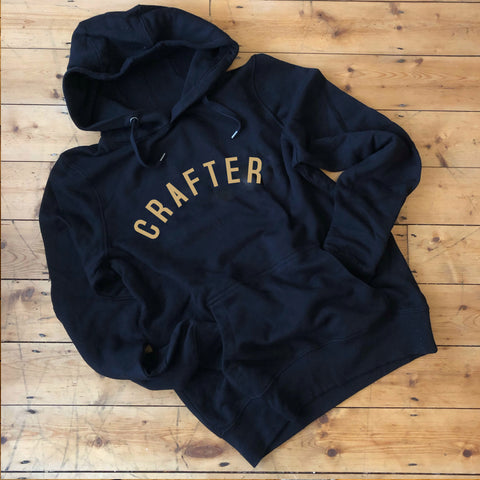 CRAFTER Hoodie - 100% Organic Fairtrade Cotton