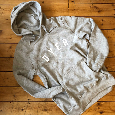 DYER Hoodie - 100% Organic Fairtrade Cotton