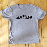 JEWELLER T Shirt - Unisex - 100% Organic Fairtrade Cotton