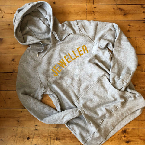 JEWELLER Hoodie - 100% Organic Fairtrade Cotton