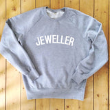 JEWELLER Sweatshirt - 100% Organic Fairtrade Cotton -