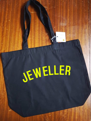 JEWELLER Bag - Organic Cotton Tote Bag