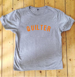 QUILTER T Shirt - Unisex - 100% Organic Fairtrade Cotton