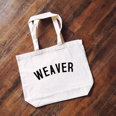 WEAVER Bag - Organic Cotton Tote Bag