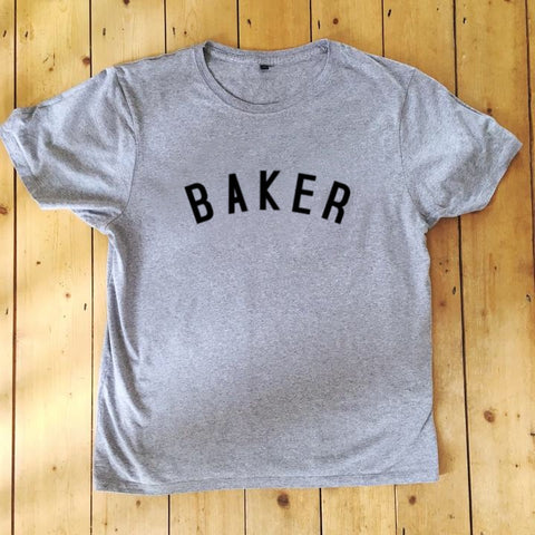 BAKER T Shirt - Unisex - 100% Organic Fairtrade Cotton