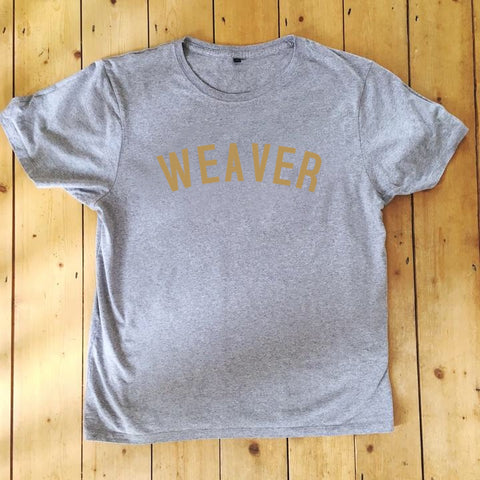 WEAVER T Shirt - Unisex - 100% Organic Fairtrade Cotton