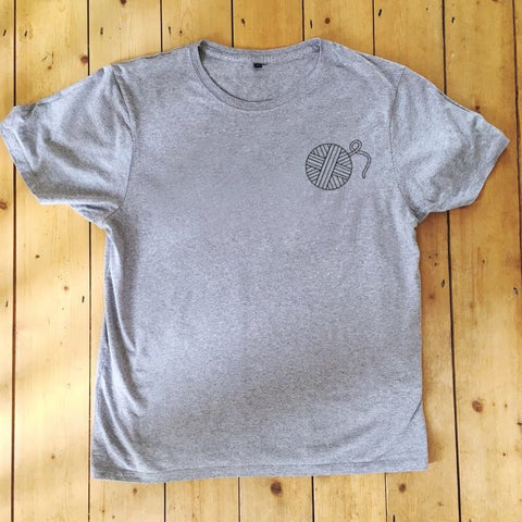 Yarn Ball - T Shirt - Unisex - 100% Organic Fairtrade Cotton