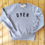 DYER Sweatshirt - 100% Organic Fairtrade Cotton -