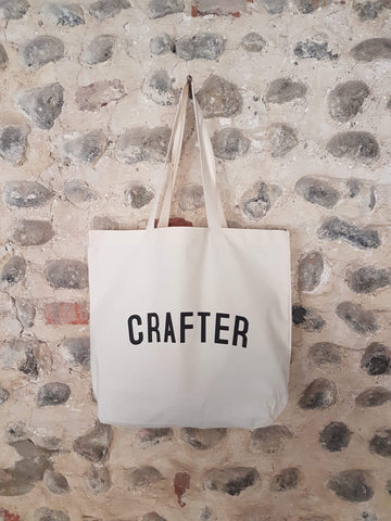CRAFTER Bag - Organic Cotton Tote Bag