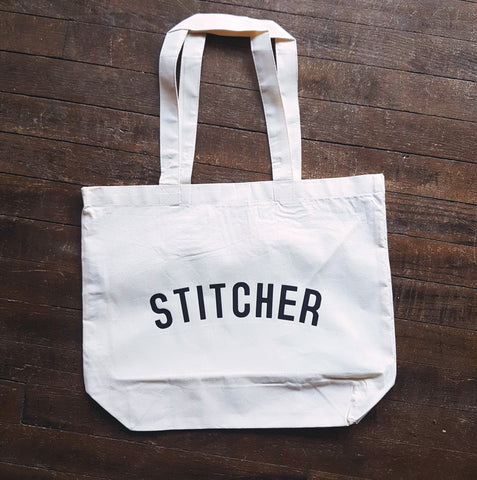 STITCHER Bag - Organic Cotton Tote Bag