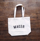 MAKER Bag - Organic Cotton Tote Bag