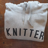 KNITTER Hoodie - 100% Organic Fairtrade Cotton