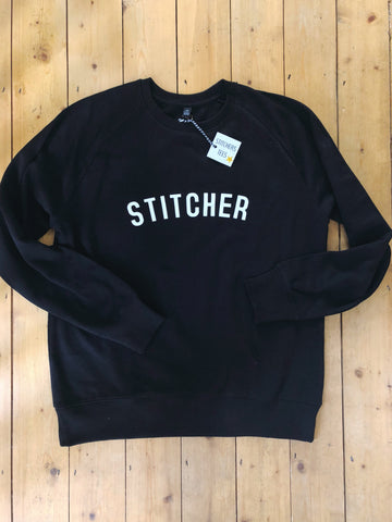STITCHER Sweatshirt - 100% Organic Fairtrade Cotton
