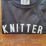 KNITTER T Shirt - Women's - 100% Organic Fairtrade Cotton