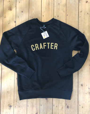 CRAFTER Sweatshirt - 100% Organic Fairtrade Cotton -