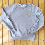 Yarn Ball - Knitting Needles - Sweatshirt - 100% Organic Fairtrade Cotton