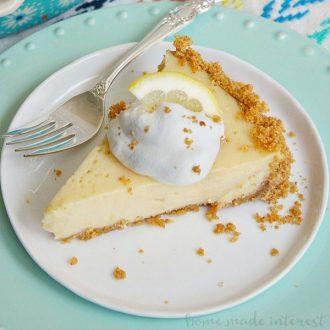 Lemon Icebox Pie - Elizabeth's Gourmet