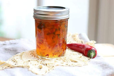 Sweet & Hot Pepper Jelly - Elizabeth's Gourmet