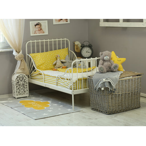 3 Piece Toddler Bedding Set, Yellow