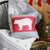 "Christmas Bear Decorative Throw Pillow Cover Christmas Gift 18""x18"""