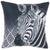 "Animal Square Zebra Printed Decorative Throw Pillow Cover Home Decor Pillowcase 18 ""x 18"""