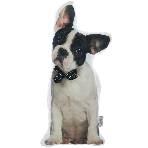 Animal Shaped Pillow, Filled Pillow with Boston Terrier Dog Shape