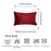 Velvet Red Decorative Throw Pillow Cover