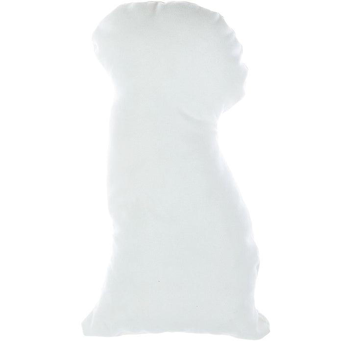 Animal Shaped Pillow, Filled Pillow with Dalmatian Dog Shape