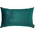 Velvet Dark Emerald Green Decorative Throw Pillow Cover Home Decor 14''x 21''