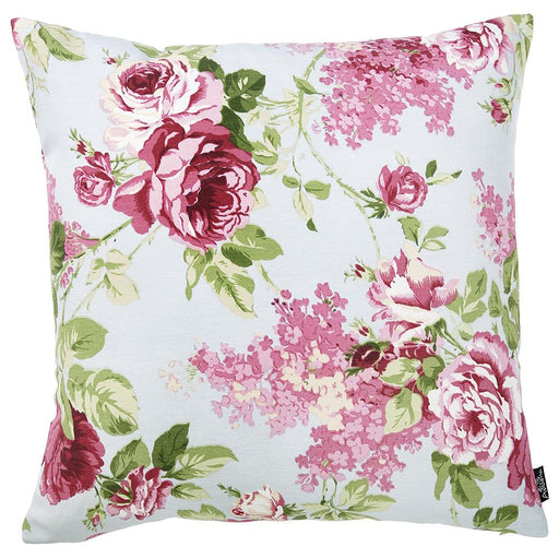 Easy Care Pink Green Decorative Throw Pillow Cover Home Decor 20''x20''