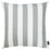 Geometric Gray Stripe Decorative Throw Pillow Cover Printed Home Decor 18''x18''
