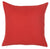 Happy Square Red Quote  Printed Decorative Throw Pillow Cover Home Decor Pillowcase 18''x 18''