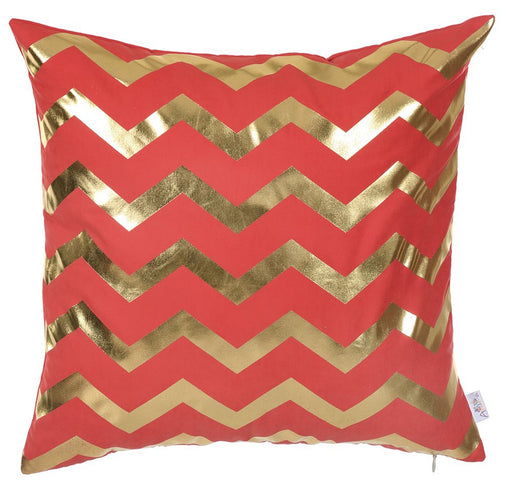 Happy Square Waves  Printed Decorative Throw Pillow Cover Home Decor Pillowcase 18''x 18''