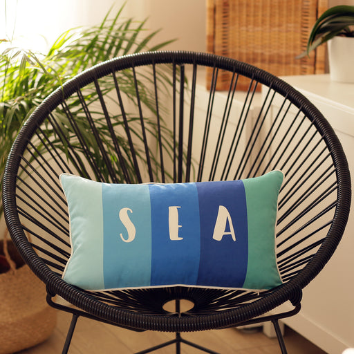 Marine Rectangle SEA Printed Decorative Throw Pillow Cover  Home Decor 12''x 20''
