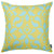 "Ikat Green Decorative Throw Pillow Cover Printed Home Decor 18""x18"""