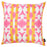 "Ikat Pink  Decorative Throw Pillow Cover Printed Home Decor 18""x18"""