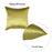 Jacquard Bright Yellow  Decorative Throw Pillow Cover Home Decor 17''x 17''