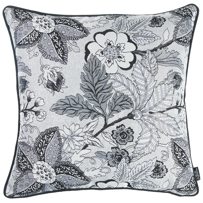 Jacquard Forest Breath Decorative Throw Pillow Cover Home Decor 17''x 17''