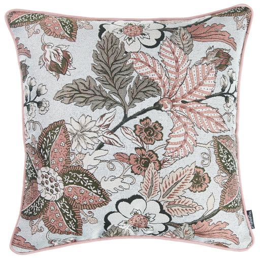 Jacquard Forest Morning Decorative Throw Pillow Cover Home Decor 17''x 17''