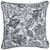 Jacquard Grey Weaver Decorative Throw Pillow Cover Home Decor 17''x 17''