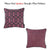 Jacquard Lily Decorative Throw Cover Pillow Home Decor