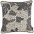 Jacquard Maple Leaf Decorative Throw Pillow Cover Home Decor 17''x 17''