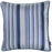 Jacquard Stripe Blue Decorative Throw Pillow Cover Home Decor 17''x 17''