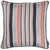 Jacquard Stripe Multicolor Decorative Throw Pillow Cover Home Decor 17''x 17''