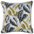 Jacquard Tropical Fall Leaf Decorative Throw Pillow Cover Home Decor 17''x 17''