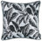 Jacquard Tropical Winter Leaf Decorative Throw Pillow Cover Home Decor 17''x 17''