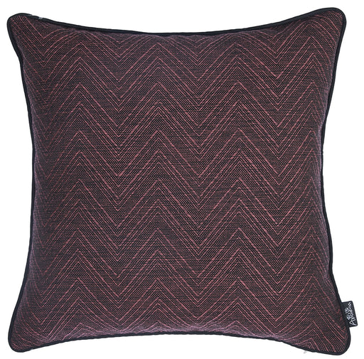 Jacquard Zigzag  Decorative Throw Pillow Cover Home Decor 17''x 17''